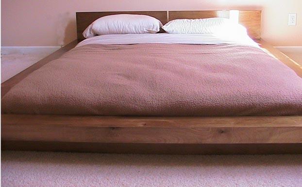 CUSTOM ASIAN FUSION PLATFORM BEDS