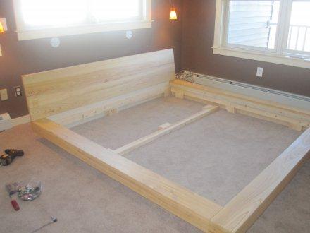 platform bed assembly instructions 2