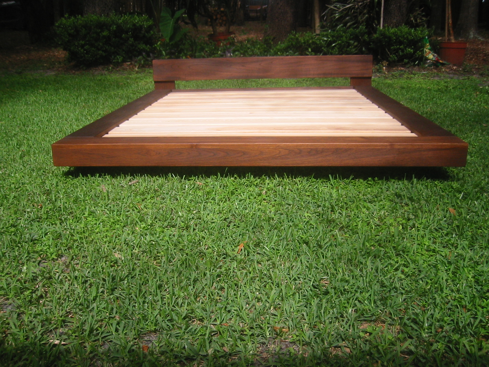 Picture of: Teak Beach Bed